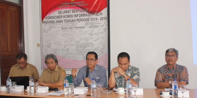FGD Penguatan Layanan Informasi Publik BPKP Wilayah Tengah 2015.