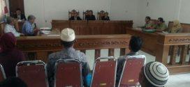 Kades Desa Ngembal kembali Tidak Dapat Hadir sebagai saksi Dalam Persidangan