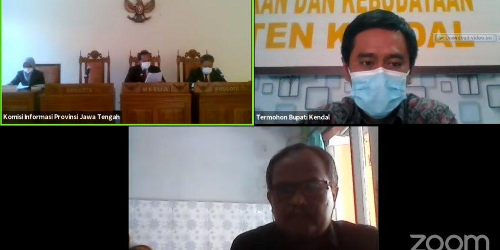 Informasi APBD dan Kekayaan Daerah menjadi pokok Permohonan LKPK Provinsi Jawa Tengah kepada Bupati Kendal